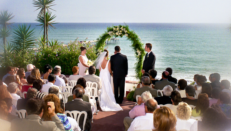 Casa Romantica San Clemente CA Wedding Venue