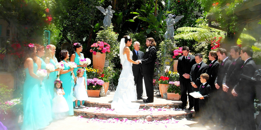 Tivoli Too Laguna Beach Ca Wedding Venue
