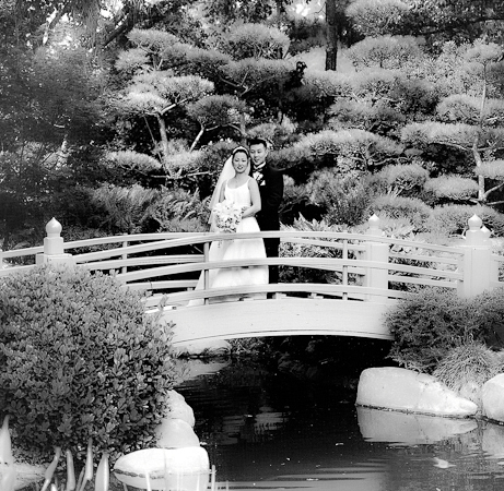 Earl Burnes Miller Japenese Gardens Long Beach Ca Wedding Venue