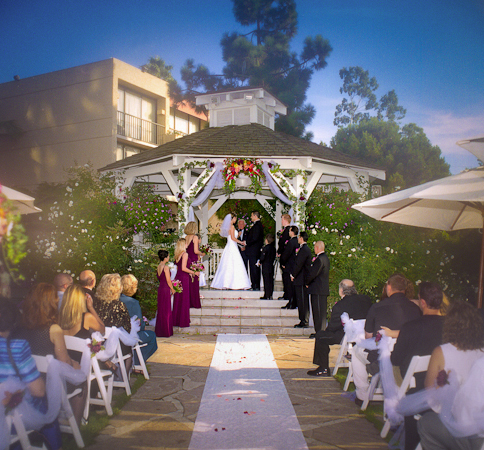 Newport Marriott Newport Beach Ca Wedding Venue